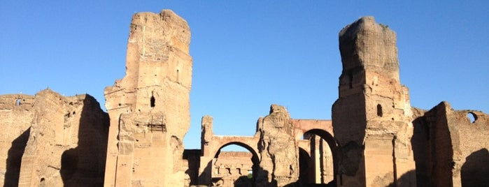 Terme di Caracalla is one of My Rome ToDo List.