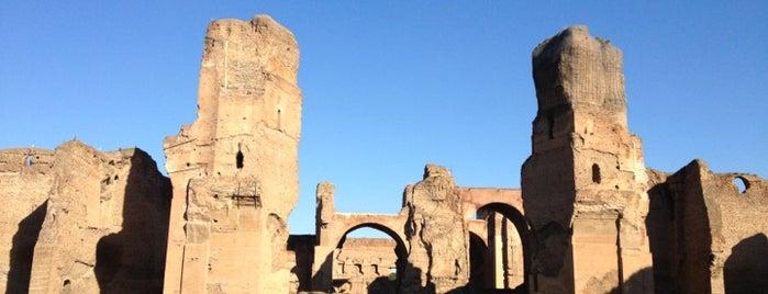 Термы Каракаллы is one of Rome.