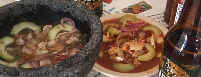 Mariscos Los Aguachiles is one of Eliknahy 님이 저장한 장소.