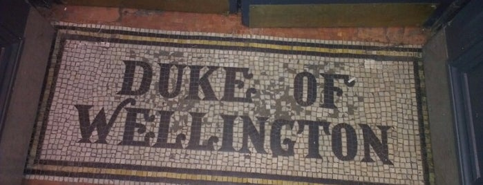 The Duke of Wellington is one of Dalston, London.
