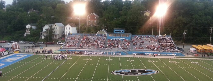 Wolvarena Stadium is one of 10 High School Football Stadiums to See.