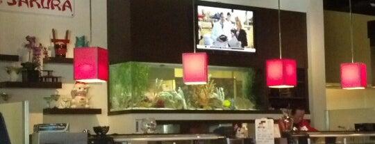 Sakura Sushi & Steakhouse is one of Tempat yang Disukai Lance.