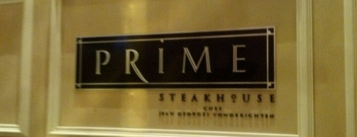 Prime Steakhouse is one of USA Las Vegas.