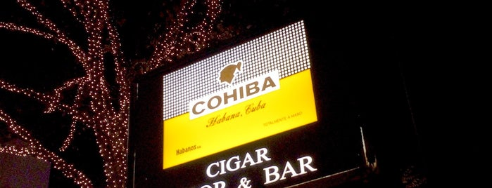 CIGAR BAR Chardonnay is one of Stevenson's Top Cigar Spots.