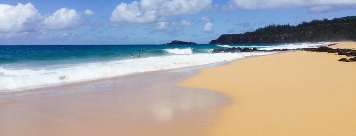 Secret beach is one of Kauai.