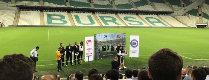 VIP Tribünü is one of สถานที่ที่บันทึกไว้ของ Murat karacim.