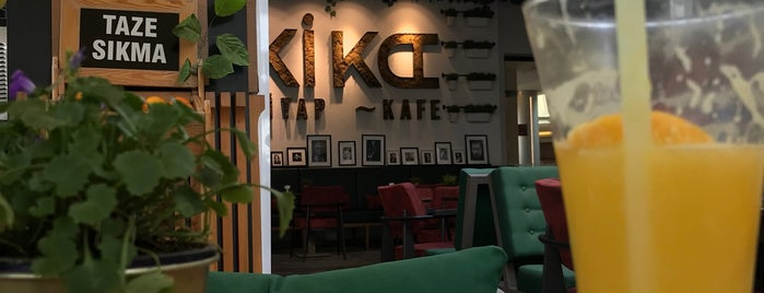 Kika Kitapkafe is one of Locais curtidos por Erkan.