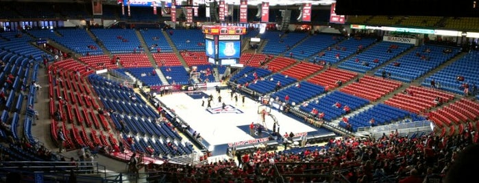 McKale Center is one of Arizona Sports Venues I Go To.