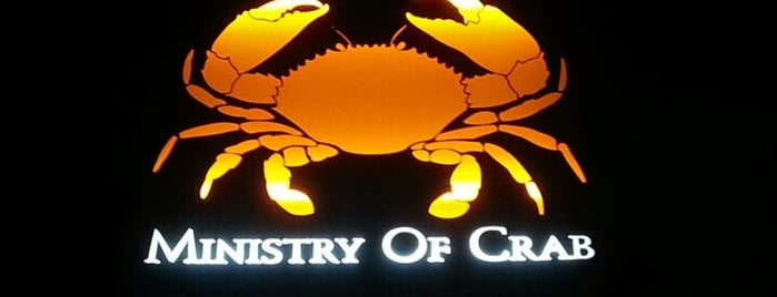 Ministry Of Crab is one of Lieux sauvegardés par Cynthia.