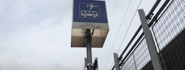 Vienna Airport Lines Station is one of Lugares favoritos de Alvaro.