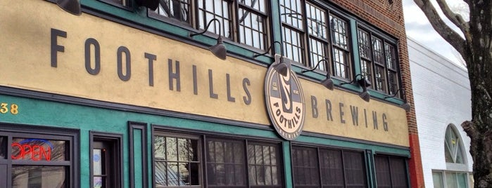 Foothills Brewing is one of Breweries USA.