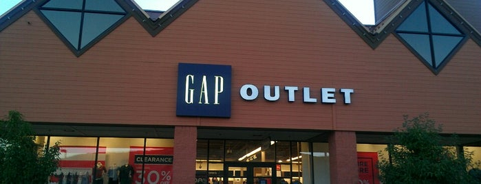 Gap Factory Store is one of John's Liked Places.