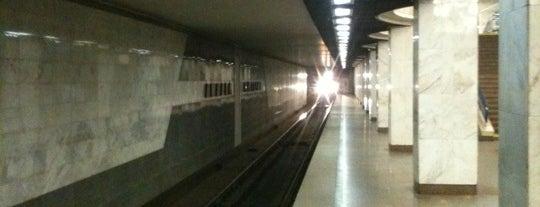 Станція «Академмістечко» is one of Locais curtidos por Samet.