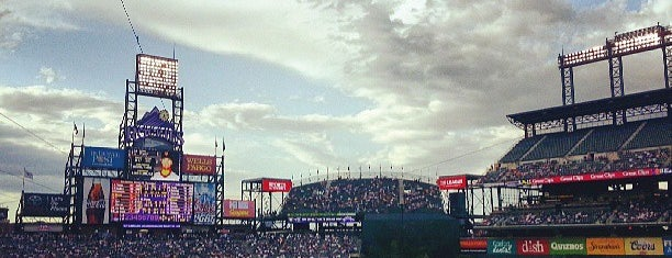 Coors Field is one of MLB Stadiums.