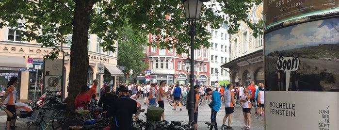Münchner Stadtlauf is one of Orte, die Martina gefallen.