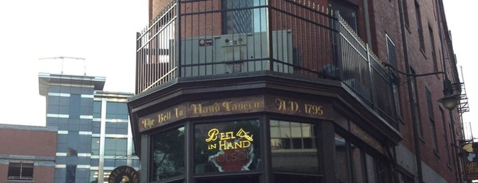 Bell In Hand Tavern is one of Boston Daters' Choice Award Winners.