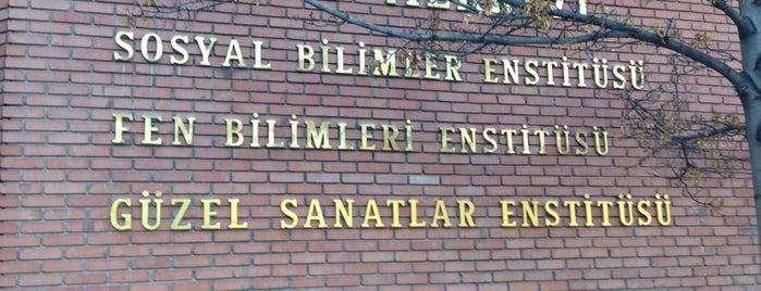 Sosyal Bilimler Enstitüsü is one of Anıl'ın Beğendiği Mekanlar.