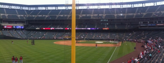 Coors Field is one of MLB.