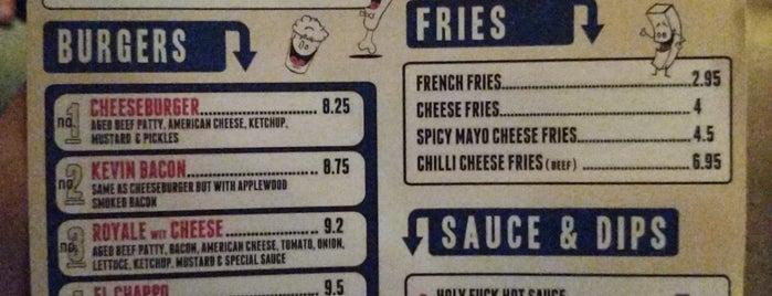 Lucky Chip is one of Бургеры в Лондоне.