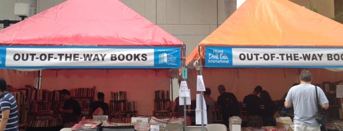 Miami Book Fair International is one of Miami: history, culture, and outdoors.