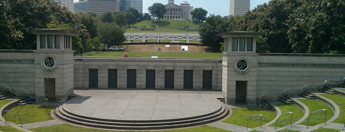 Bicentennial Mall State Park is one of Nashville TN.