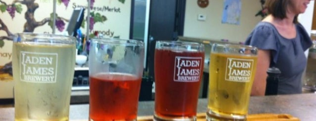 Jaden James Brewery is one of MI Breweries.