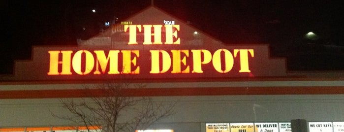The Home Depot is one of Chris's Liked Places.
