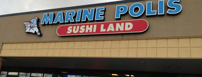 Marinepolis Sushi Land is one of pdx-oh..