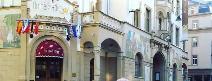 Grandhotel Ambassador Národní dům is one of Posti che sono piaciuti a Larisa.