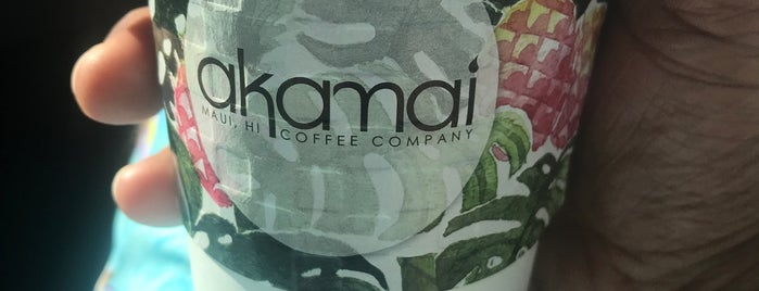 Akamai Coffee is one of Hawaii Eats.
