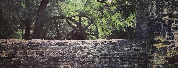 Yulee Sugar Mill Ruins Historic State Park is one of JAX.
