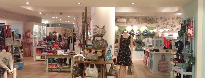 Cath Kidston is one of London eats/drinks/shopping/stays.