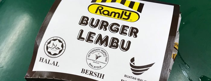 Ramly Burger RnR Gurun Arah Selatan is one of Makan @ Utara #7.
