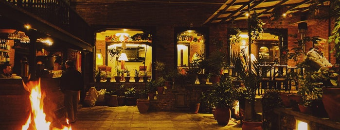 Thamel House Restaurant is one of Trips.