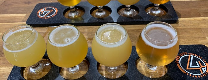 Four City Brewing Company is one of New/Yum in NJ.