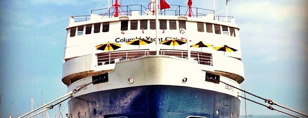Columbia Yacht Club is one of Lugares favoritos de Andre.