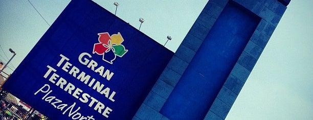 Gran Terminal Terrestre Plaza Norte is one of Tempat yang Disukai Jamhil.