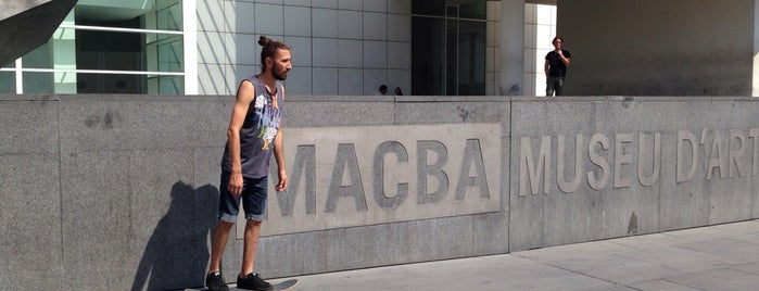 MACBA Skate Spot is one of Barcelona 2019.