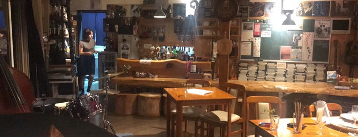 Cafe+Inn That Sounds Good is one of Tempat yang Disukai Nik.