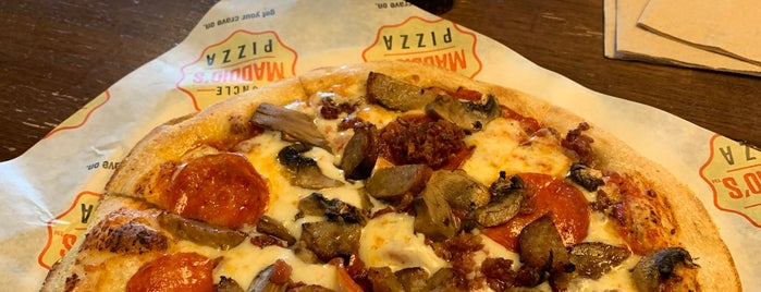 Uncle Maddio's Pizza is one of Minot, ND.