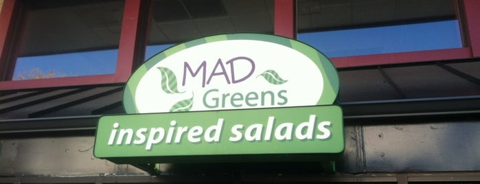 MAD Greens - Inspired Eats (Cherry Creek) is one of Various Restaurants in the Denver Metro.