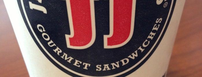 Jimmy John's is one of Orte, die Joshua gefallen.