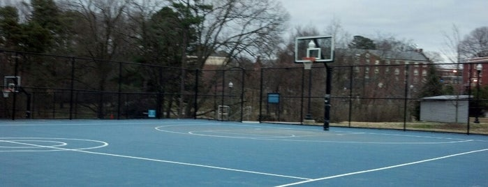 UNCG Outdoor Basketball Courts is one of Sports and Recreation.