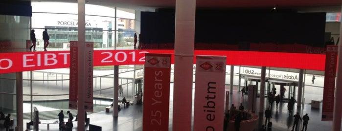 EIBTM2012 is one of España, Barcelona.