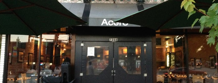 Acero is one of Best places to eat.