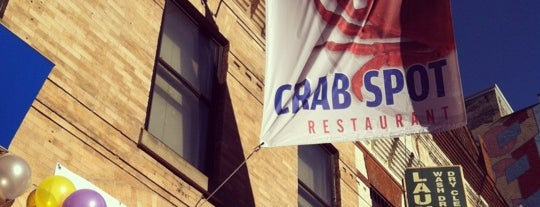 Crab Spot is one of Local favorites.