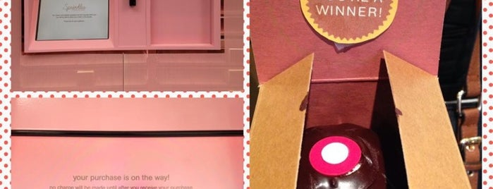 Sprinkles Cupcake ATM is one of NYC places.