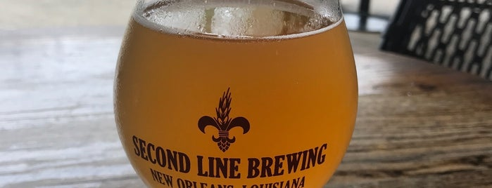Second Line Brewing is one of Nola.