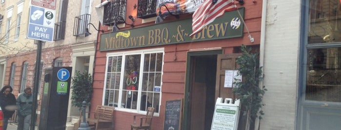 Midtown BBQ & Brew is one of Baltimore Goodies.