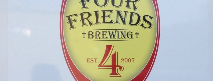 Four Friends Brewing is one of Posti salvati di JessC ⚓.